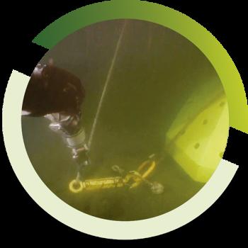 Inspecciones de ductos y cables submarinos